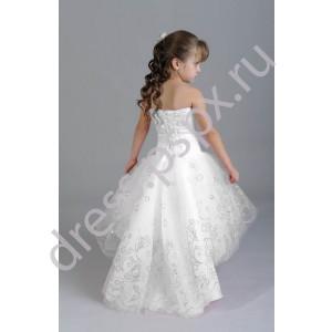 Платье на девочку 6 лет со шлейфом