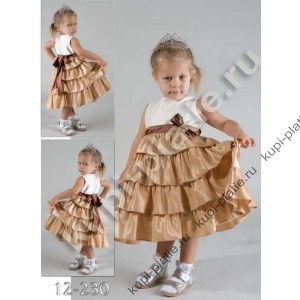 Нарядное детское платье на 2 года