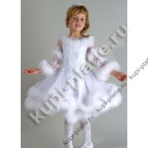 Платья снежинки для девочки